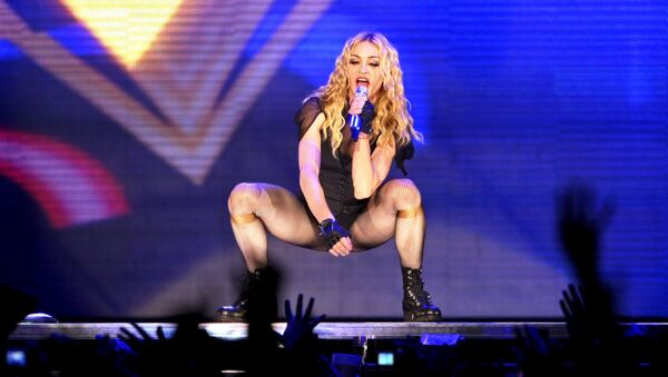 La cantante estadounidense Madonna - Sputnik Mundo