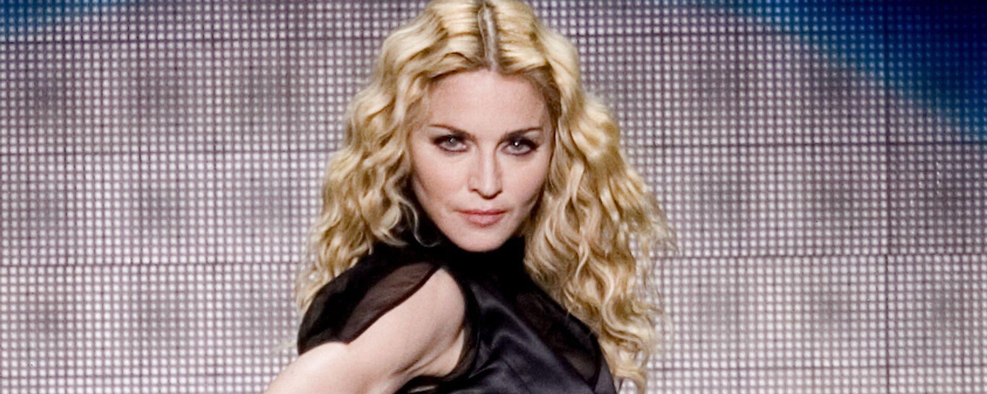 Американская певица Мадонна во время выступления в Мексике, 2008 год - Sputnik Mundo, 1920, 30.03.2021