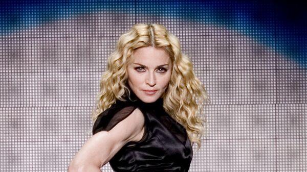 Американская певица Мадонна во время выступления в Мексике, 2008 год - Sputnik Mundo