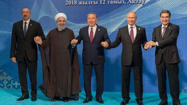 La Cumbre del Caspio - Sputnik Mundo