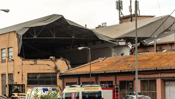Colapso del puente en Génova - Sputnik Mundo