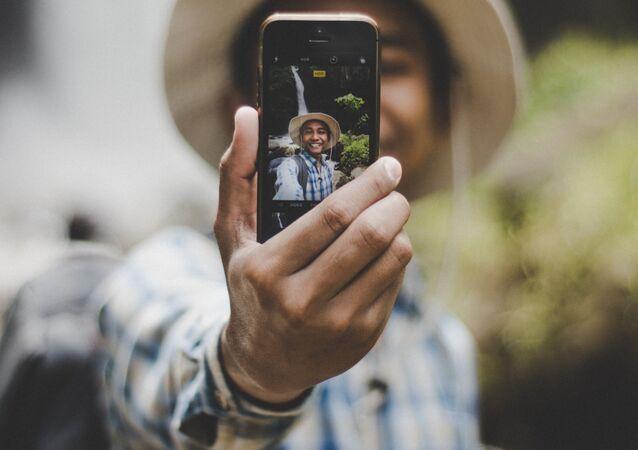 Una selfi, imagen referencial