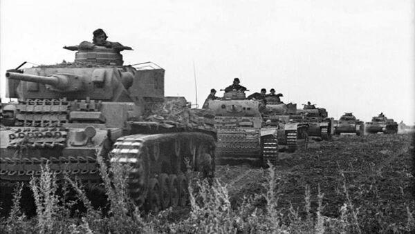 Tanques Panzer alemanes durante la Segunda Guerra Mundial (archivo) - Sputnik Mundo