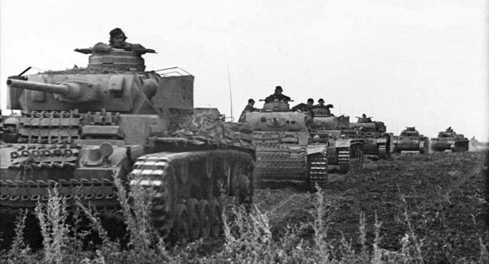 Tanques Panzer alemanes durante la Segunda Guerra Mundial (archivo)
