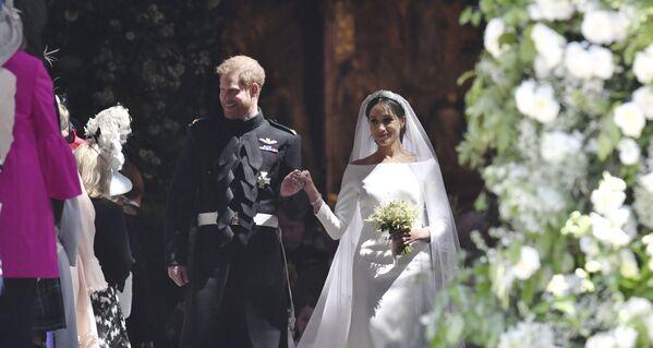 La boda de Meghan Markle y el príncipe Enrique - Sputnik Mundo