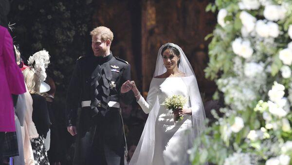 La boda de Meghan Markle y el príncipe Enrique (archivo) - Sputnik Mundo
