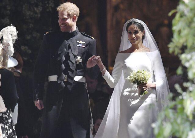 La boda de Meghan Markle y el príncipe Enrique (archivo)