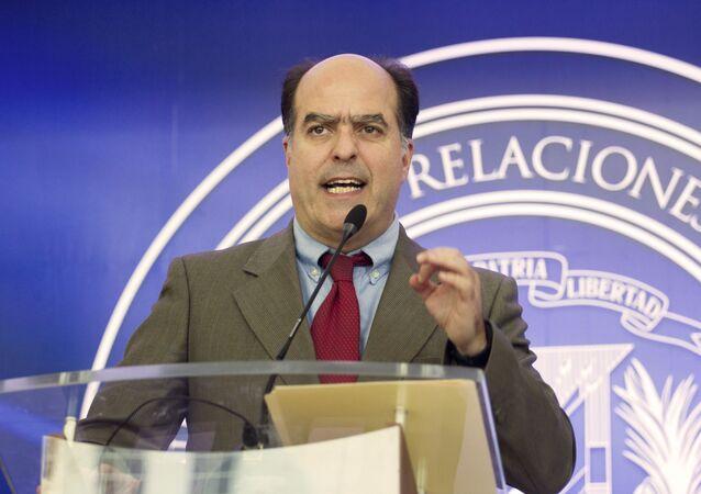 Julio Borges, diputado opositor venezolano