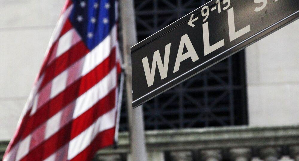 La calle Wall Street de Nueva York