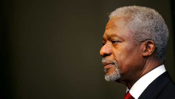 Kofi Annan, exsecretario general de la ONU - Sputnik Mundo