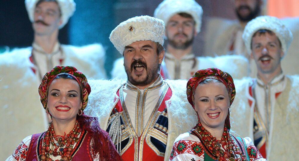 El Coro Cosaco de Kubán (imagen referencial)