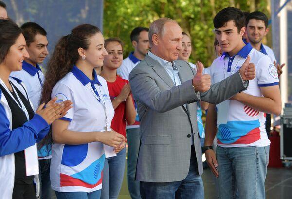 Los rusos más influyentes según la revista Forbes - Sputnik Mundo
