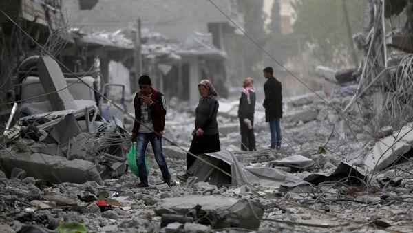 Situación en Siria, foto de archivo - Sputnik Mundo