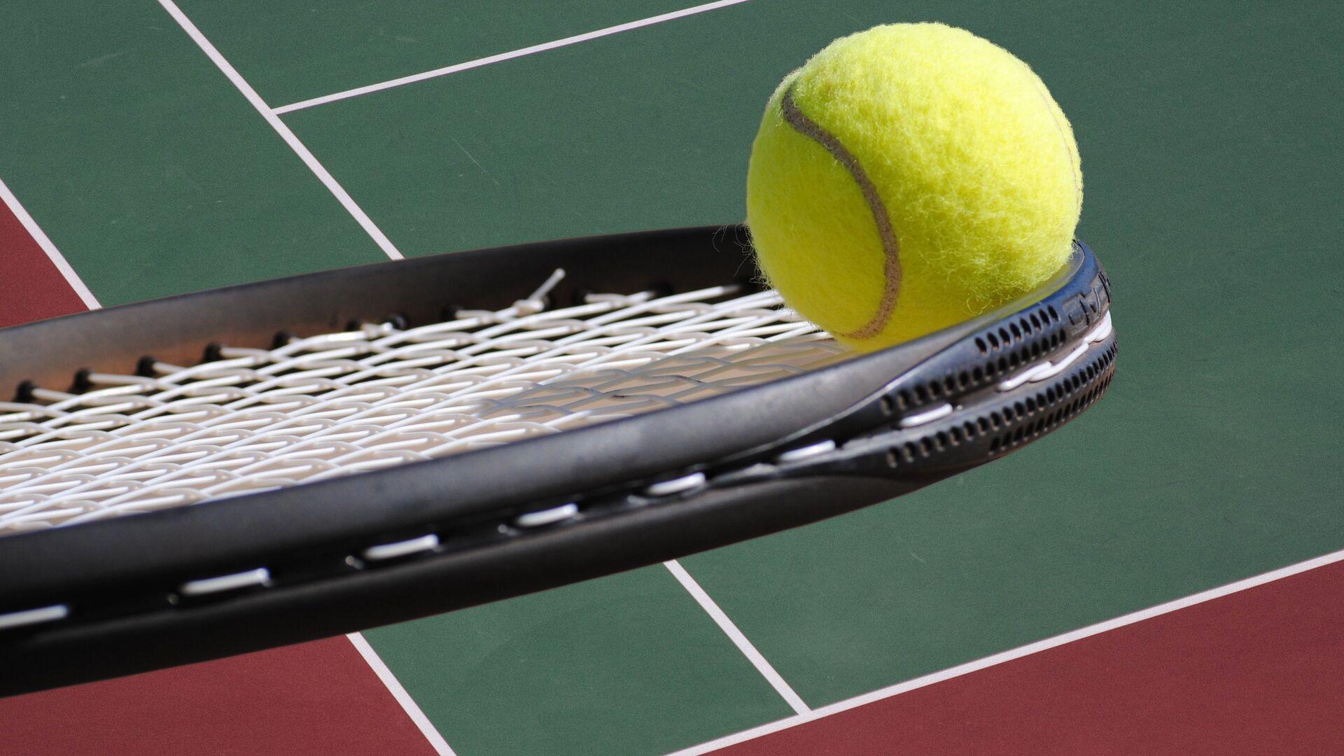 Pelota de tenis - Sputnik Mundo, 1920, 02.07.2021