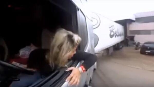 Truck girl - Sputnik Mundo
