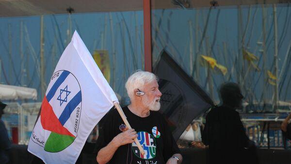 Uri Avnery, el pacifista israelí más conocido (archivo) - Sputnik Mundo