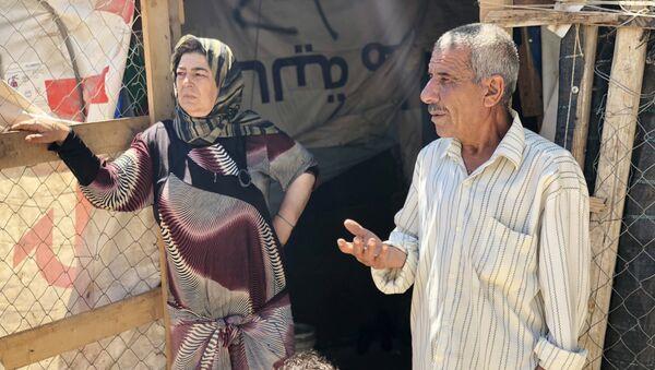 Refugiados sirios en Líbano - Sputnik Mundo