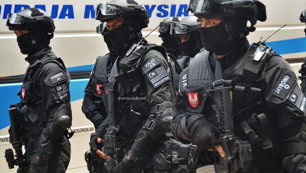 Unidad especial de la Policía de Malasia - Sputnik Mundo