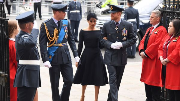 Meghan Markle, la duquesa de Sussex - Sputnik Mundo