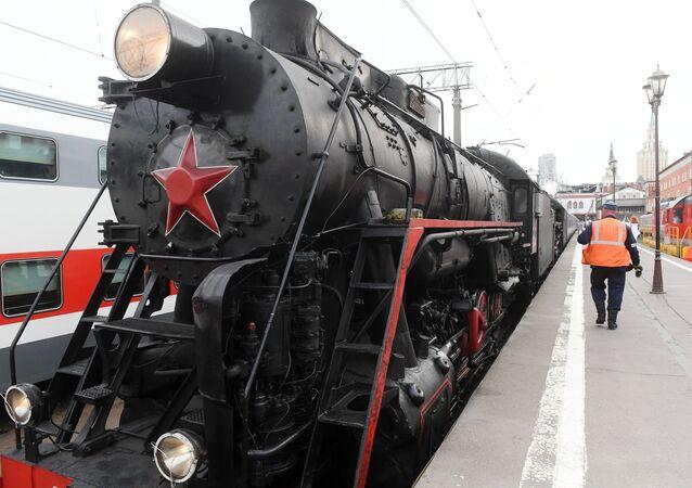 El tren 'Rusia imperial'