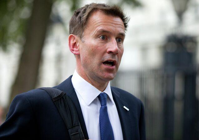 Jeremy Hunt, ministro de Exteriores del Reino Unido (archivo)