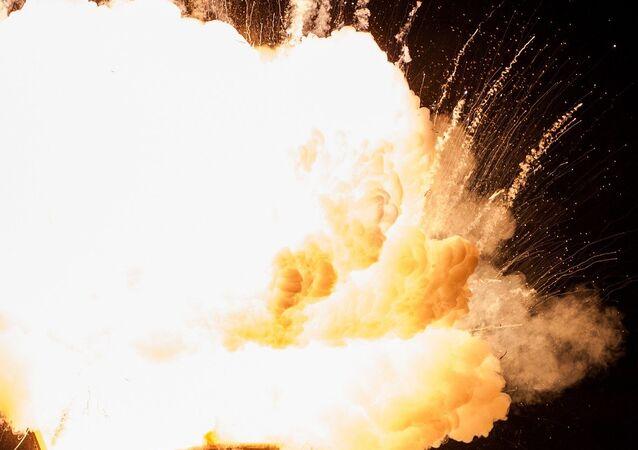 Explosión de una bomba (imagen referencial)