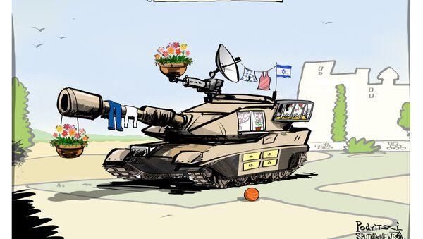 Seguridad nacional al estilo israelí - Sputnik Mundo