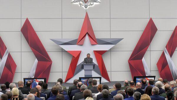 Yuri Borísov, viceprimer ministro ruso, durante el Foro Internacional Técnico Militar Army 2018 - Sputnik Mundo
