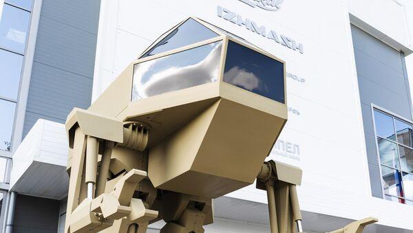 El consorcio Kalashnikov presenta un novedoso robot de combate - Sputnik Mundo