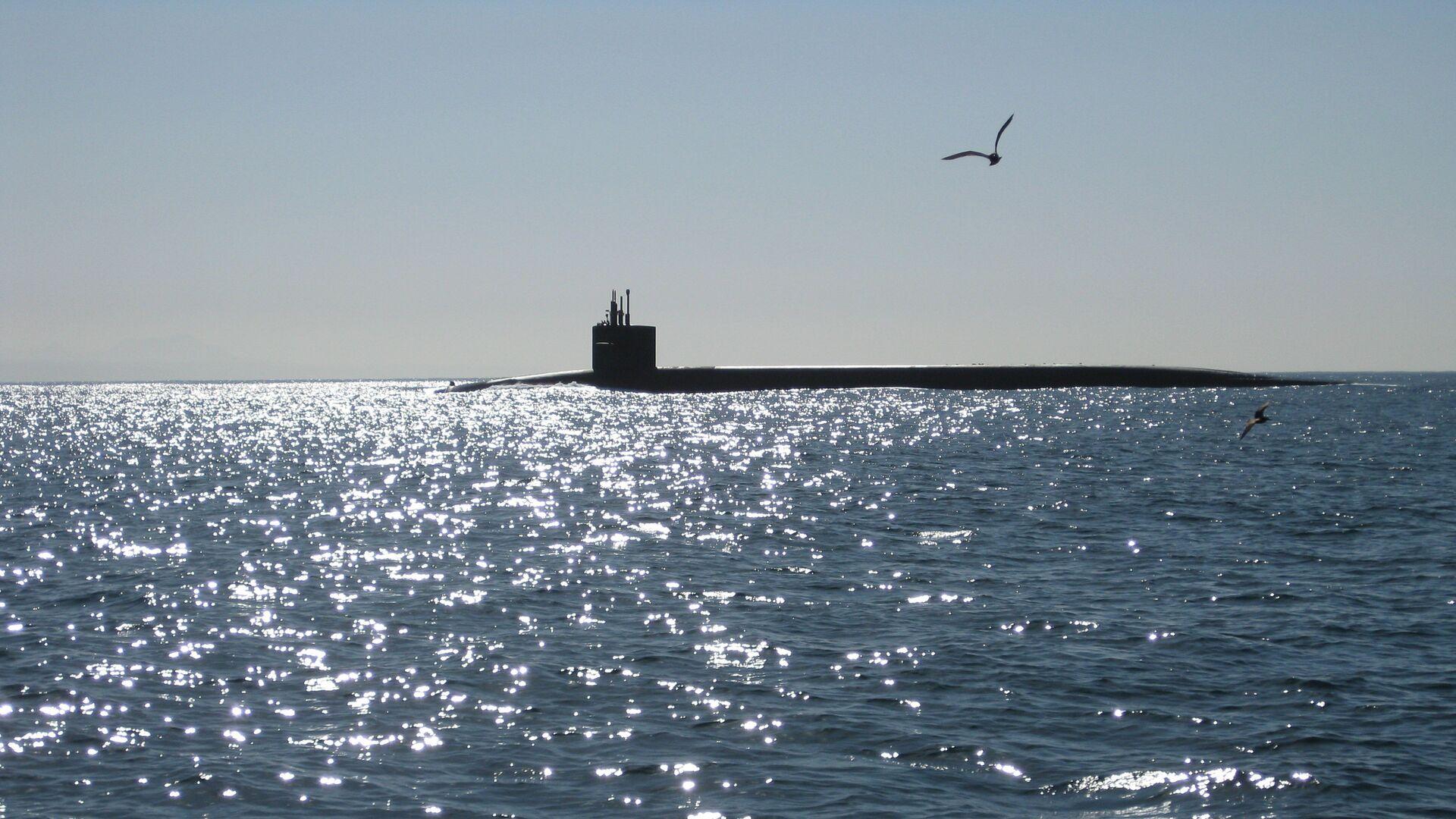 Un submarino (imagen referencial) - Sputnik Mundo, 1920, 17.03.2021