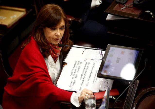 Cristina Fernández de Kirchner expresidenta de Argentina