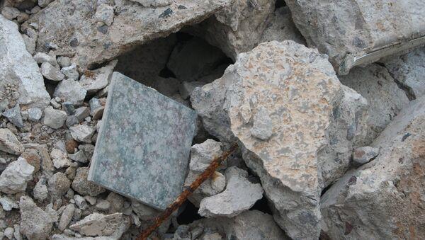 Escombros (imagen referencial) - Sputnik Mundo