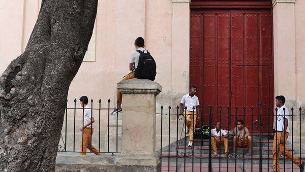 Escolares de Cuba - Sputnik Mundo