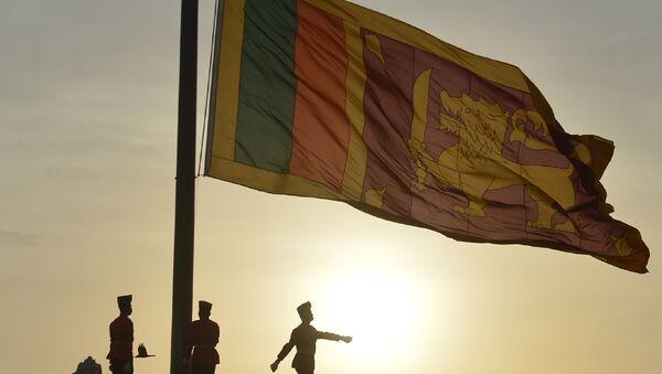 Bandera de Sri Lanka - Sputnik Mundo