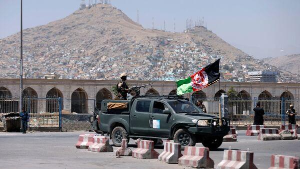Las fuerzas de seguridad afganas en Kabul, Afganistán - Sputnik Mundo