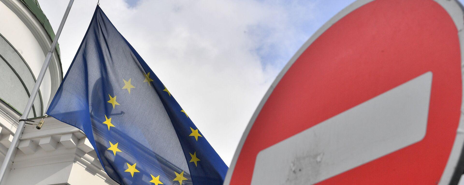Bandera de la UE - Sputnik Mundo, 1920, 24.05.2021