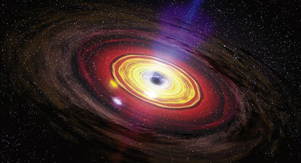 Un agujero negro