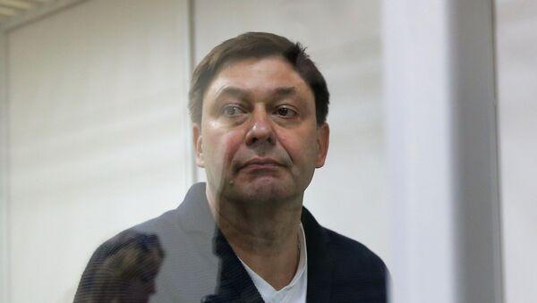 Kiril Vishinski, el jefe del portal RIA Novosti Ukraina (archivo) - Sputnik Mundo