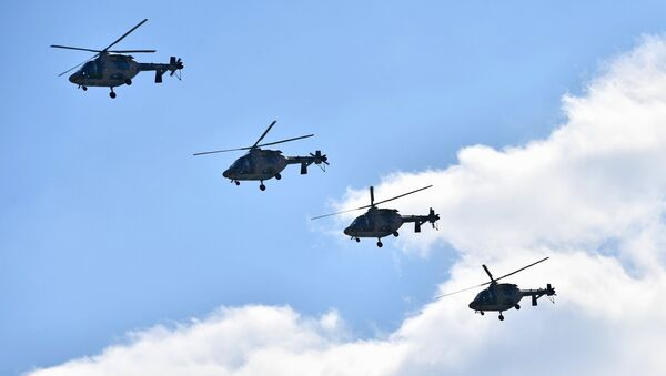 Los helicópteros Ansat - Sputnik Mundo