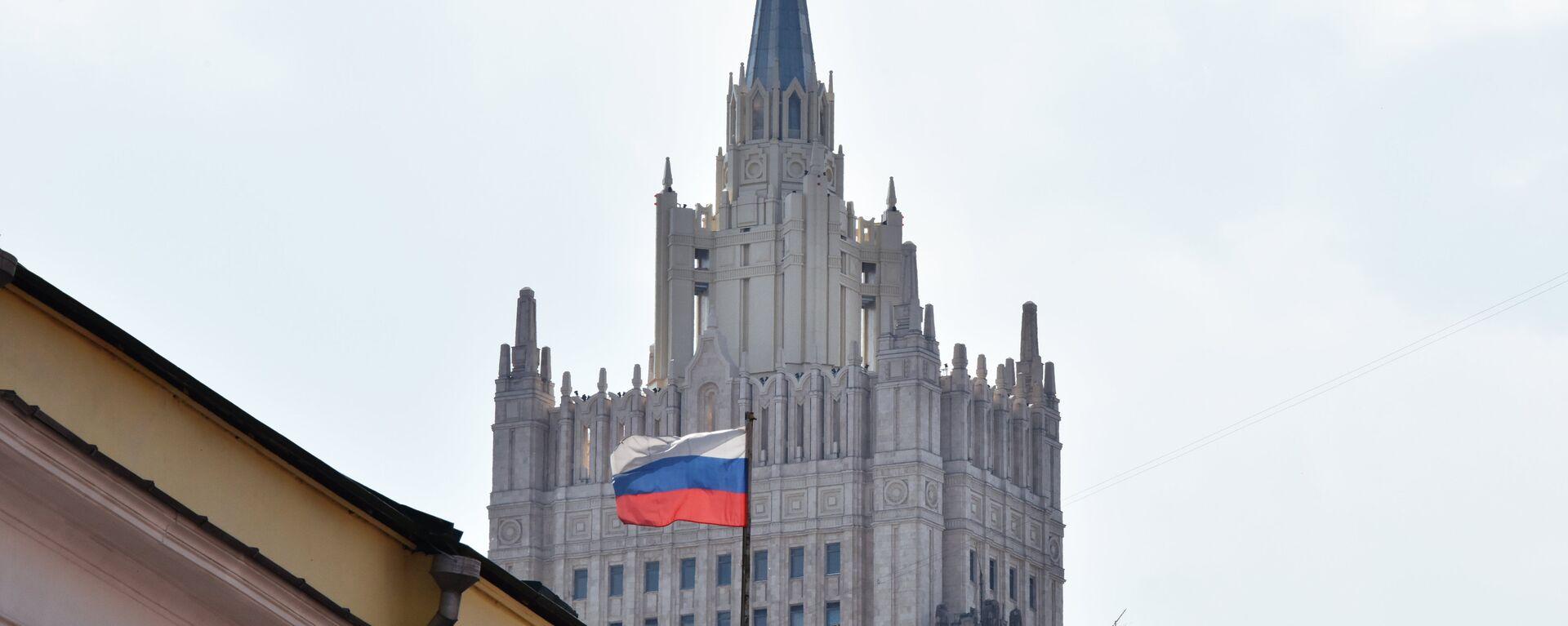 Ministerio de Exteriores de Rusia - Sputnik Mundo, 1920, 25.06.2021