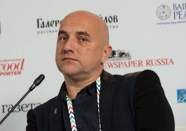 El escritor y figura pública Zajar Prilepin