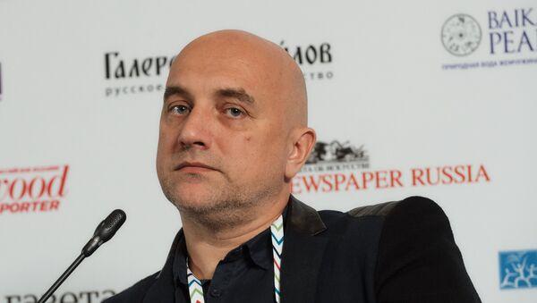 El escritor y figura pública Zajar Prilepin - Sputnik Mundo