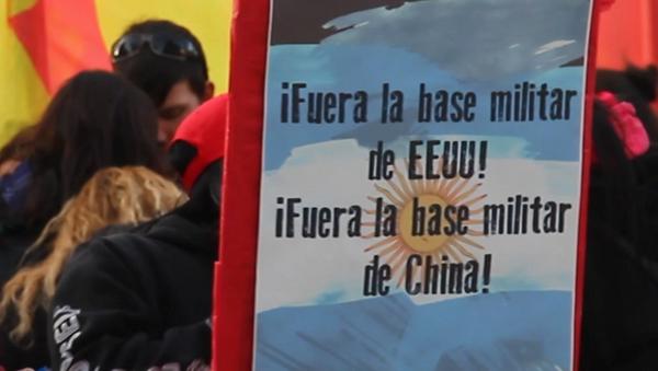 ¡No a la base de los yanquis! argentinos se rebelan contra una instalación militar de EEUU - Sputnik Mundo