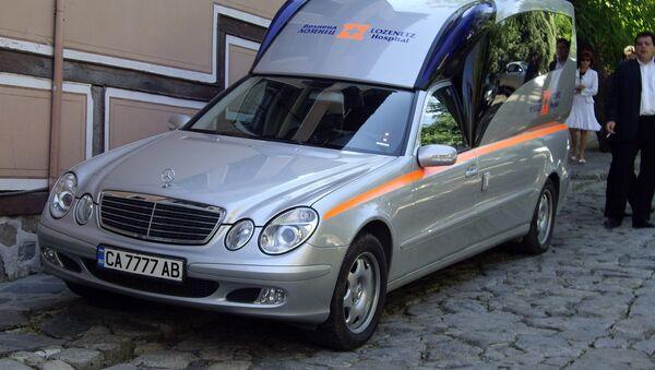 Una ambulancia en Bulgaria (imagen referencial) - Sputnik Mundo