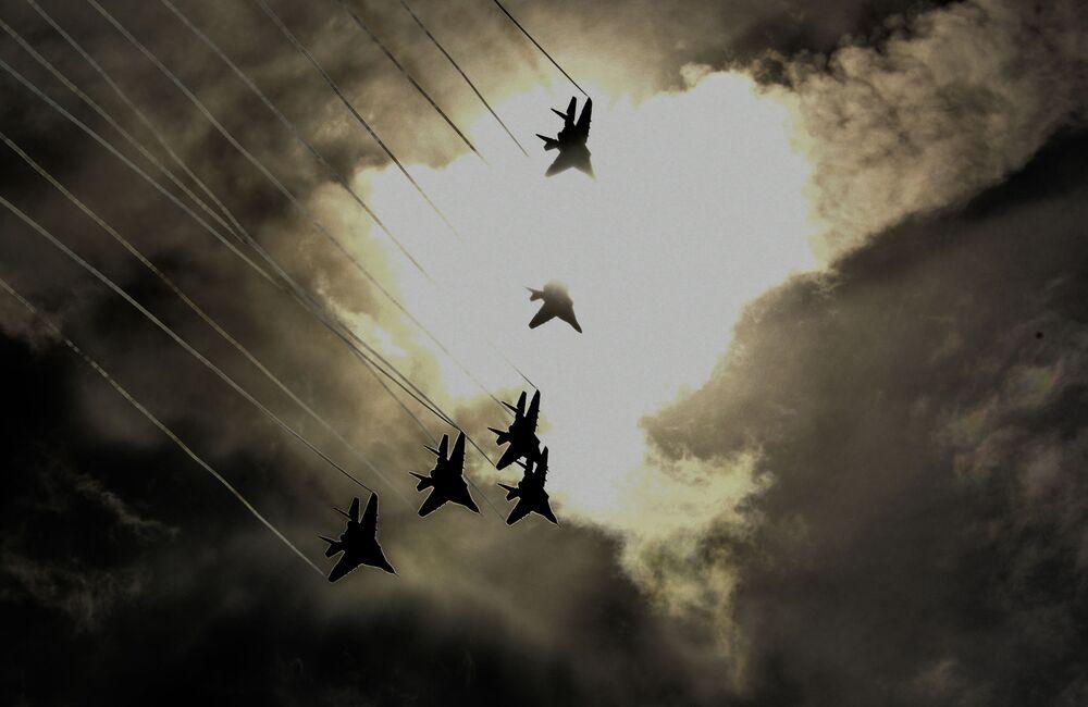 El arte de la guerra y la industria militar, en las fotos de Army 2018