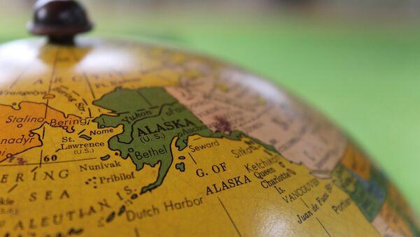El mapa de Alaska - Sputnik Mundo