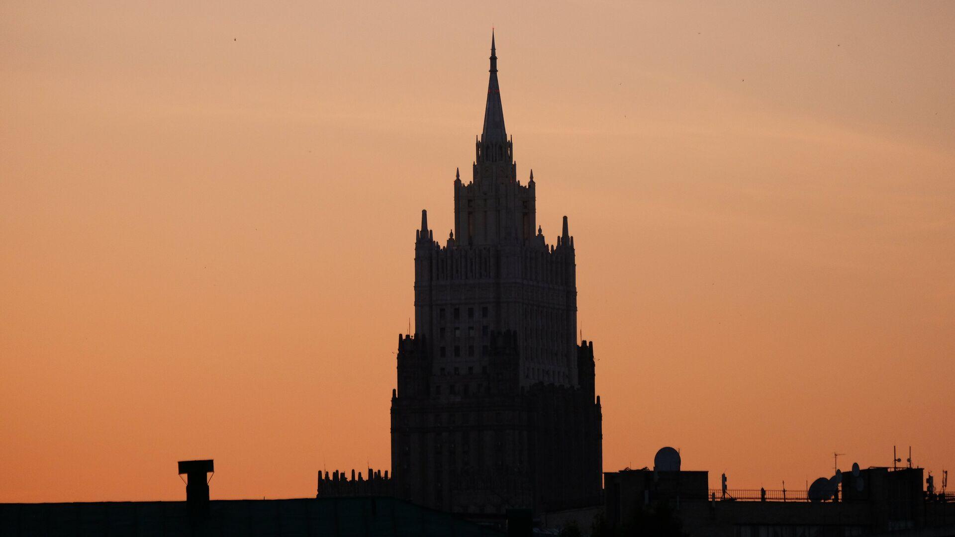El Ministerio de Asuntos Exteriores de Rusia - Sputnik Mundo, 1920, 20.04.2021