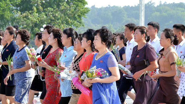 Los ciudadanos coreanos (imagen referencial) - Sputnik Mundo