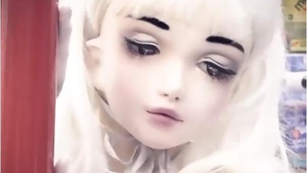 Lulú Hashimoto, una 'muñeca viviente' - Sputnik Mundo