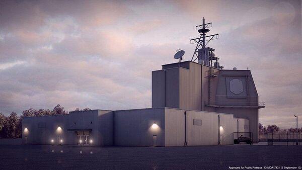 Un sistema antimisiles estadounidense Aegis Ashore - Sputnik Mundo